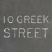 10 Greek Street Logo