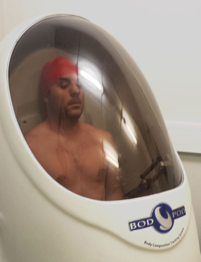 Keith in BodPod